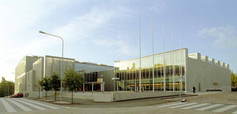 Physcum building at Helsinki Univercity campus