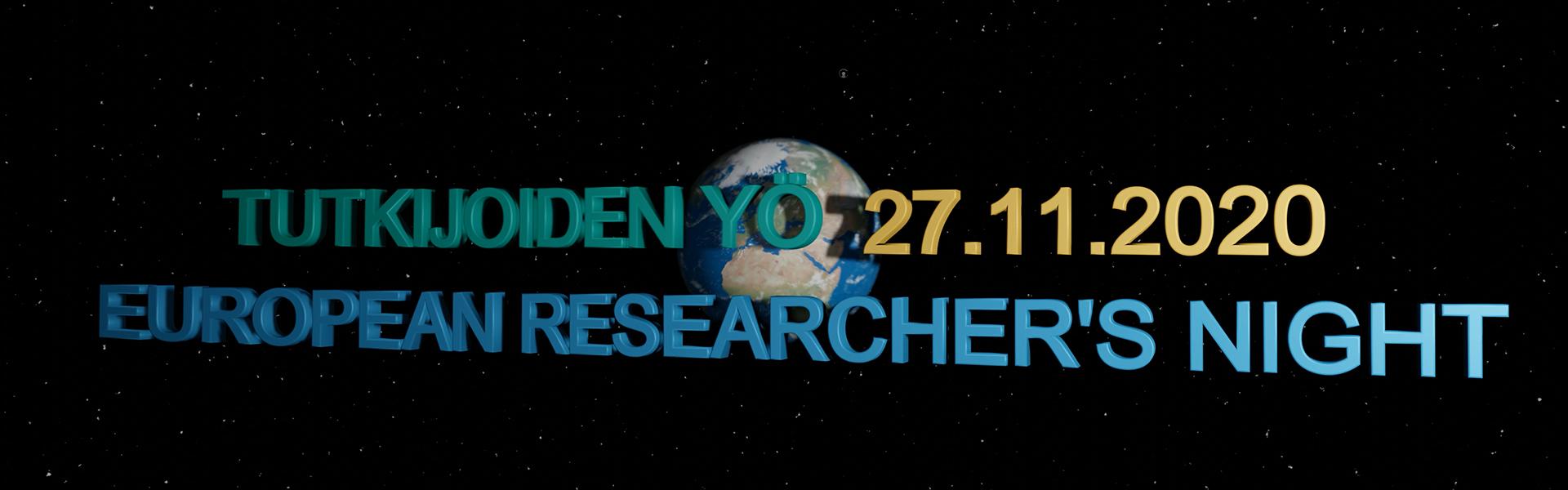 Tutkijoiden yö 2020